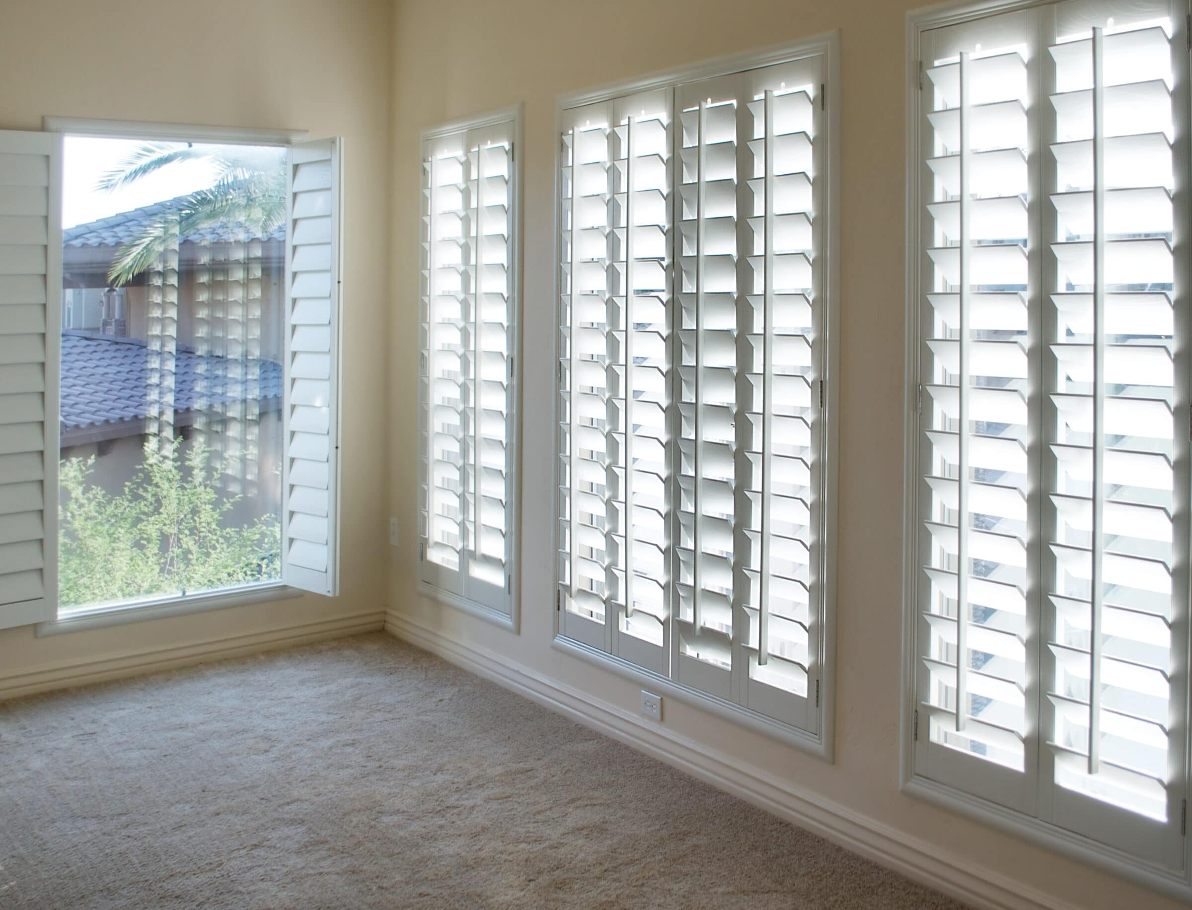 Shutters are energy efficient
