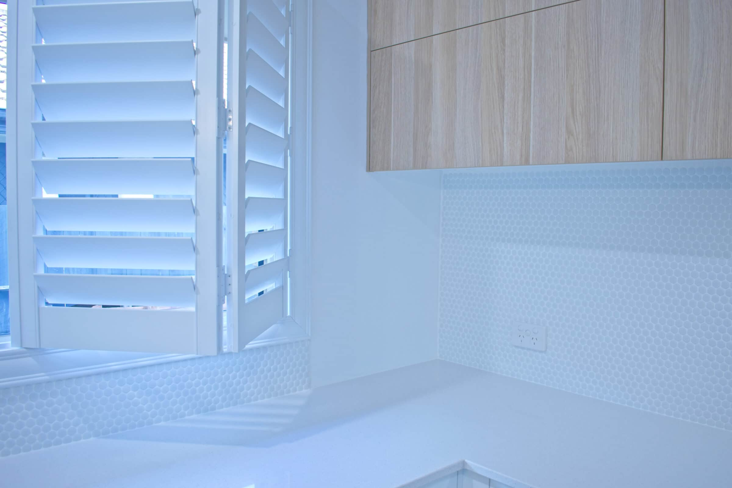 Shutters are more versatile than blinds